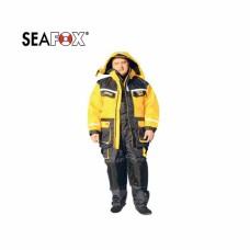 """Dviejų  dalių  neskęstantis , """"kvėpuojantis""""  SeaFox  CrossFlow  kostiumas"""